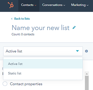 Active HubSpot List