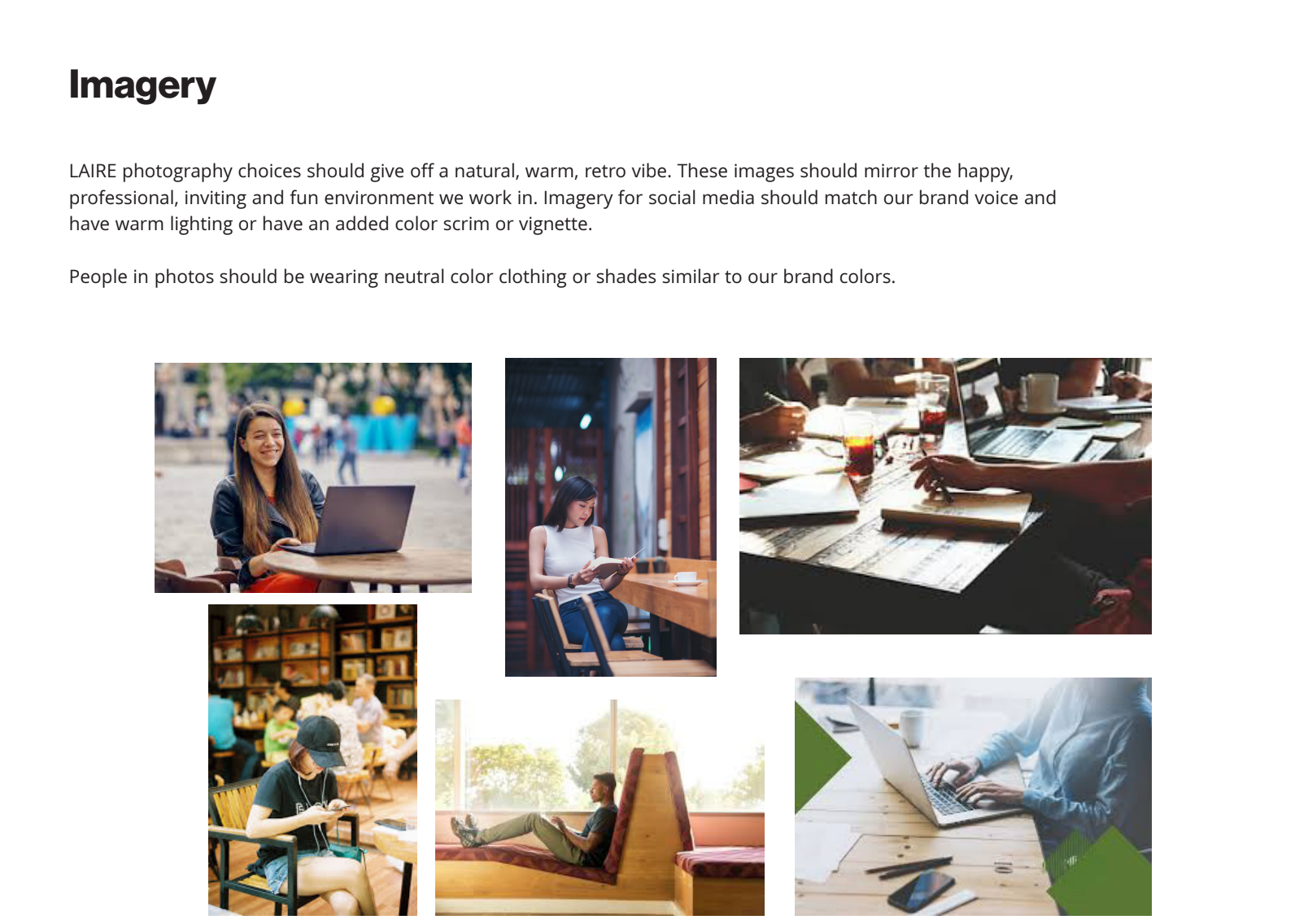 Brand Guide Imagery