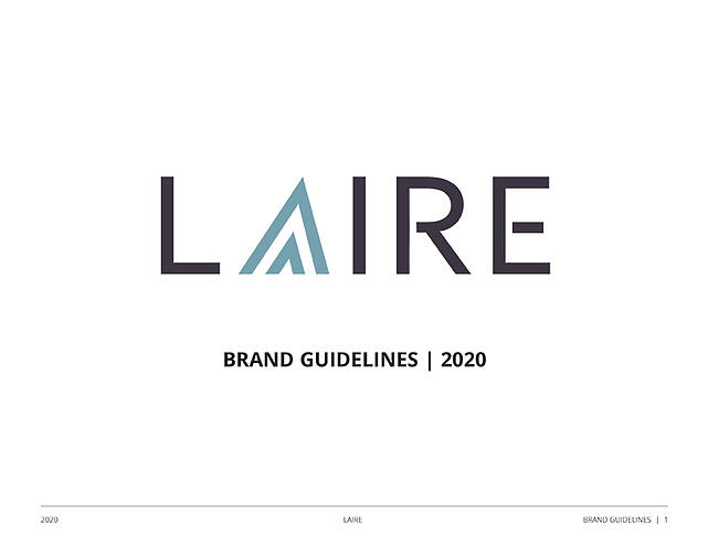Brand Guideline Cover LAIRE