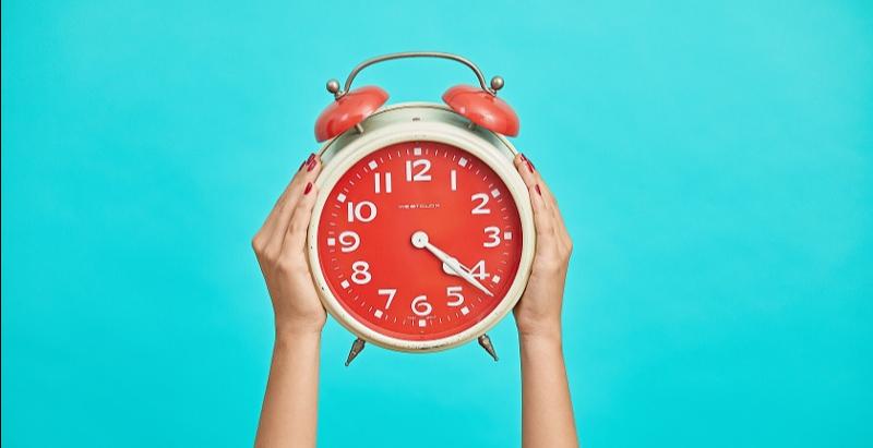 Email Marketing Tip - urgency - alarm clock