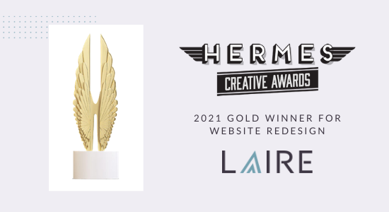 LAIRE - Hermes Creative Award Email-1