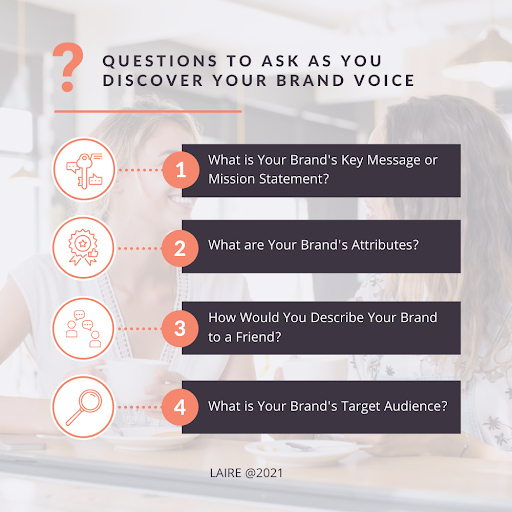 Questions to Ask as You Discover Your Brand Voice Chart