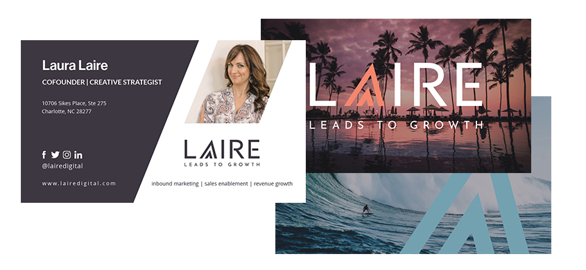 Laire Business Card example