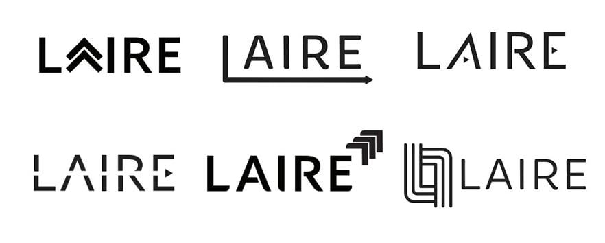 Laire logo brainstorm