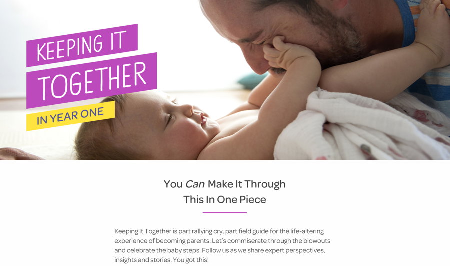 Storytelling Marketing Example - Plum Organics - Keeping It Together