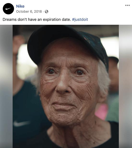 Storytelling Marketing Example - Nike