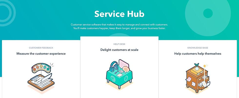 ServiceHub Features