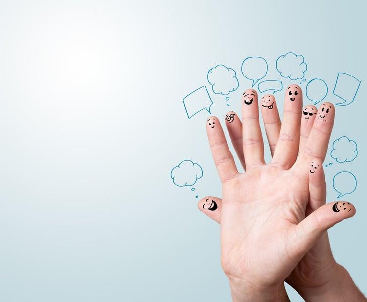 Social media marketing strategy - Facebook engagement - start a conversation