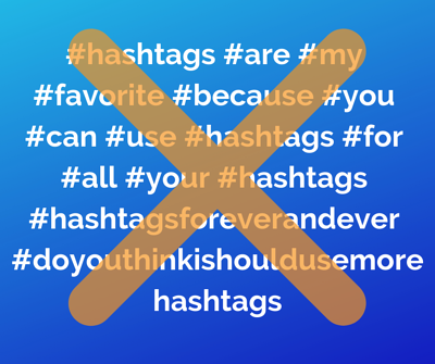 How not to use Instagram hashtags