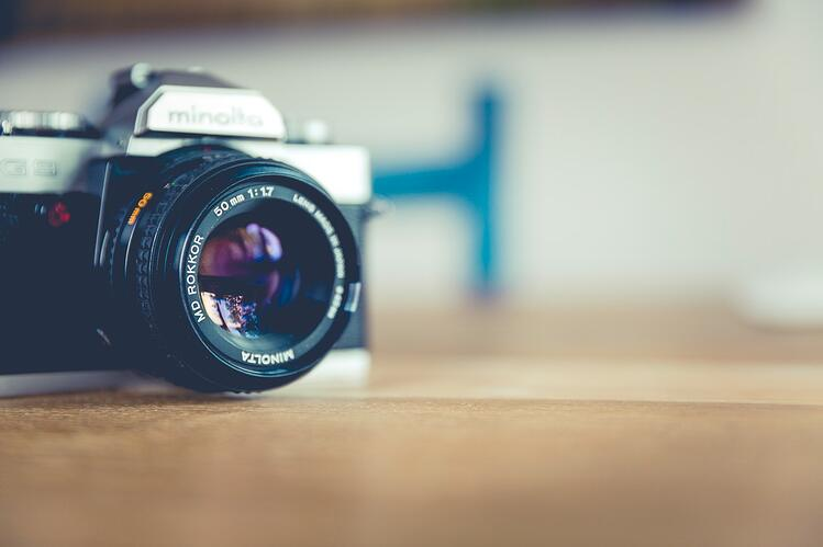 Social media marketing strategy - Facebook engagement - camera